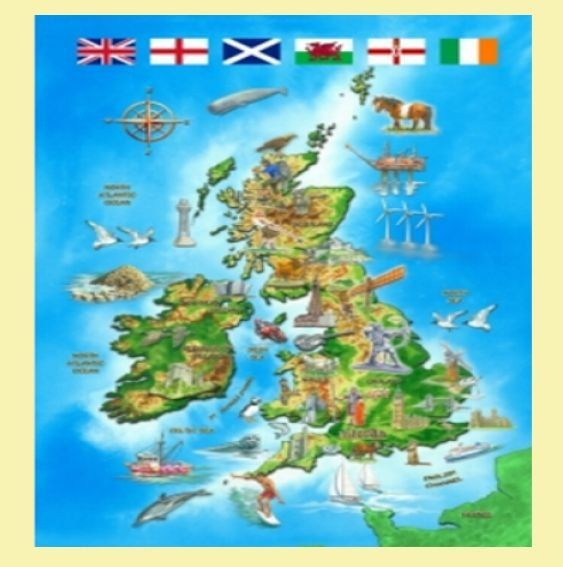 Map of the british isles location themed maxi wooden jigsaw puzzle map of the british isles location themed maxi wooden jigsaw puzzle 250 pieces gumiabroncs Image collections