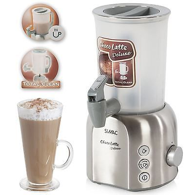 choco latte deluxe hot chocolate machine coffee drink milkshake maker frother view more on. Black Bedroom Furniture Sets. Home Design Ideas