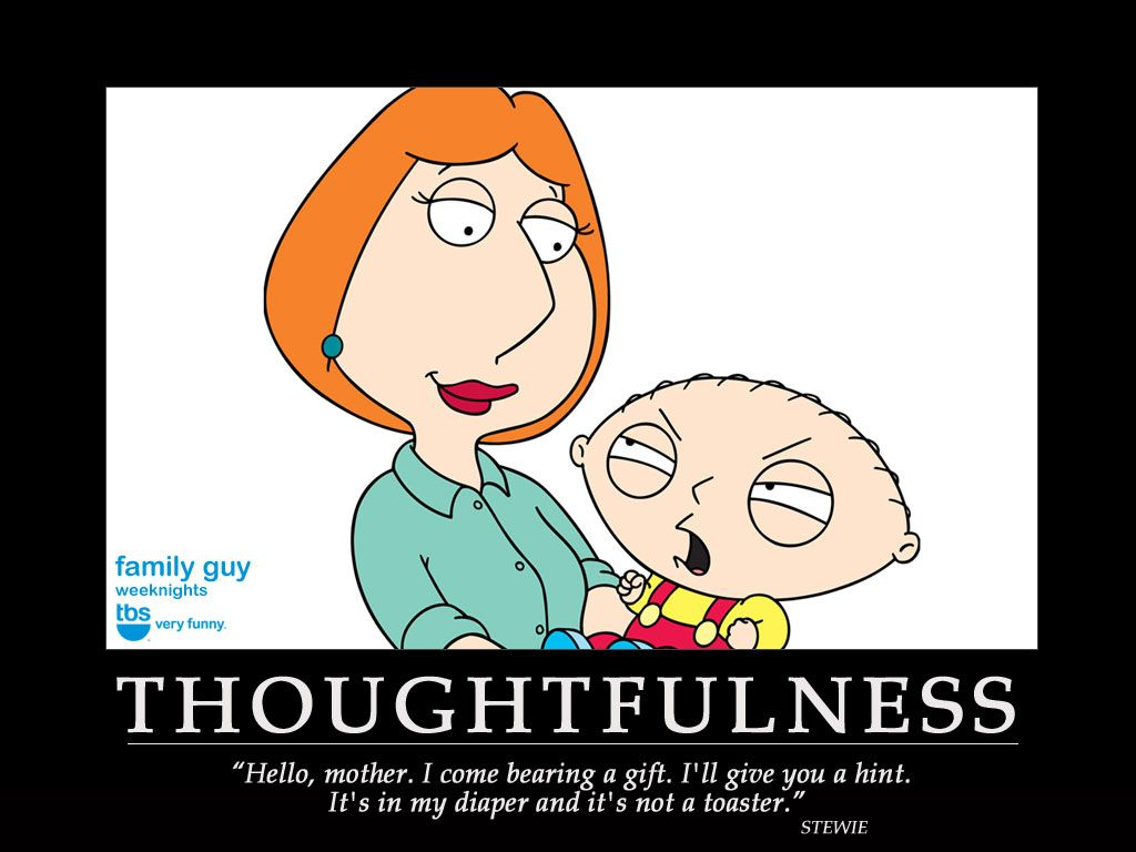 Thank Goodness They Get Older Family Guy Quotes Funny Cartoon Quotes Family Guy Funny