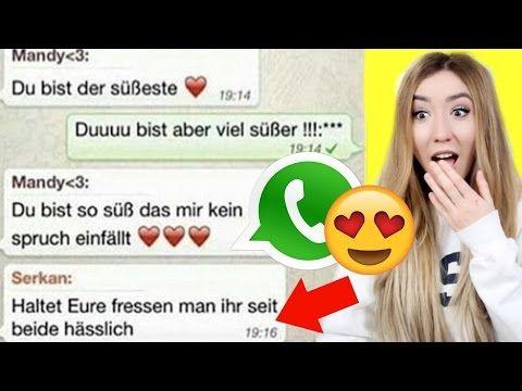die Süßesten WHATSAPP Chats zum Neidisch werden - YouTube