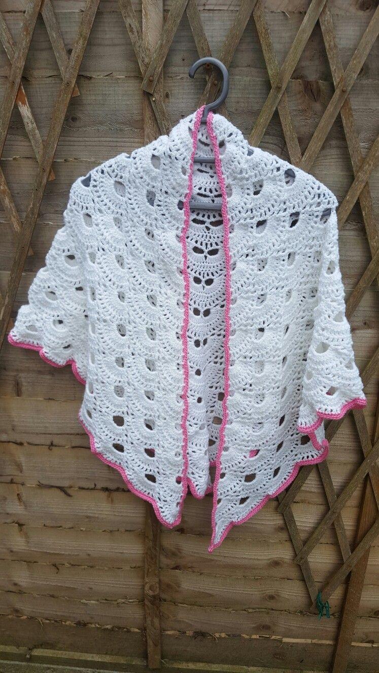 Virus Shawl Virustuch Pattern By Julia Marquardt Crochet