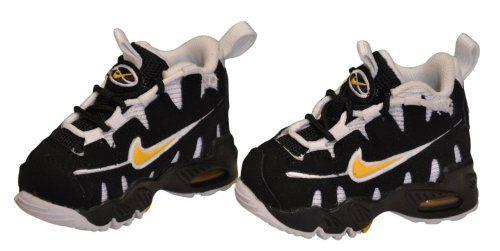 quality design 99dc7 1dd62 Nike Boys Toddler Infant Air Max NM (TD) Shoes-Black White Yellow Nike.   44.98