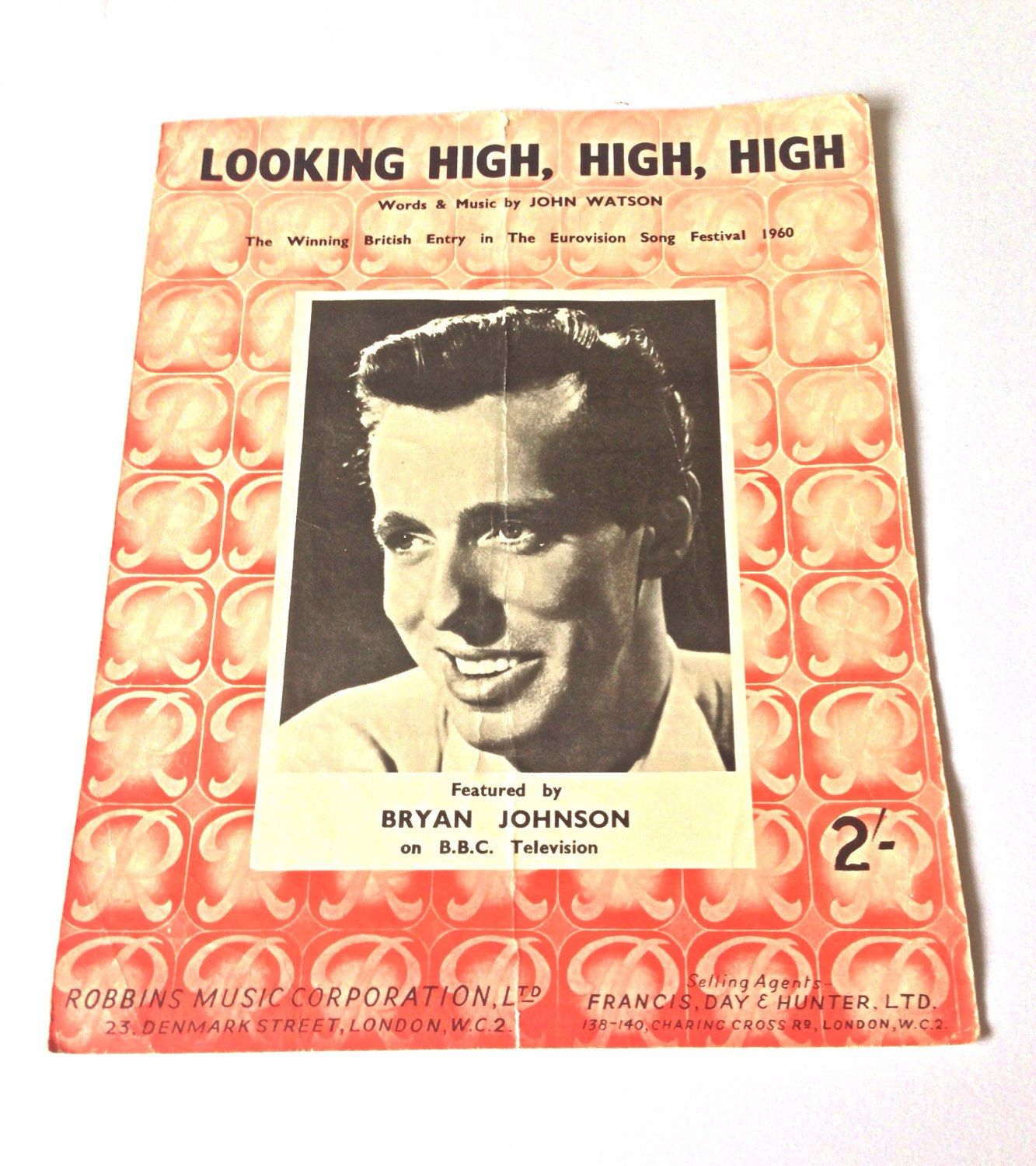 Vintage Sheet Music Selection - Red Set of 3, Autumn Concerto, Don\'t ...