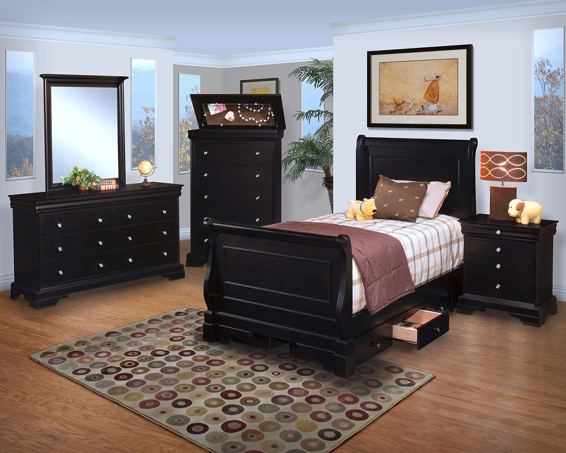 Bedroom Design, Glamorous Amazing Youth Bedroom Wooden Furniture Design Brown Dark Colors For The Girls: Amazing Youth Bedroom Furniture for...