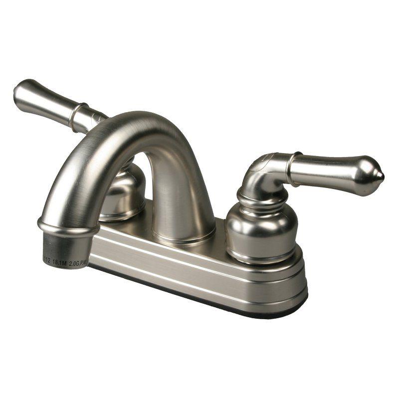 Ultra Faucets Non Metallic Uf08343c Centerset Bathroom Faucet