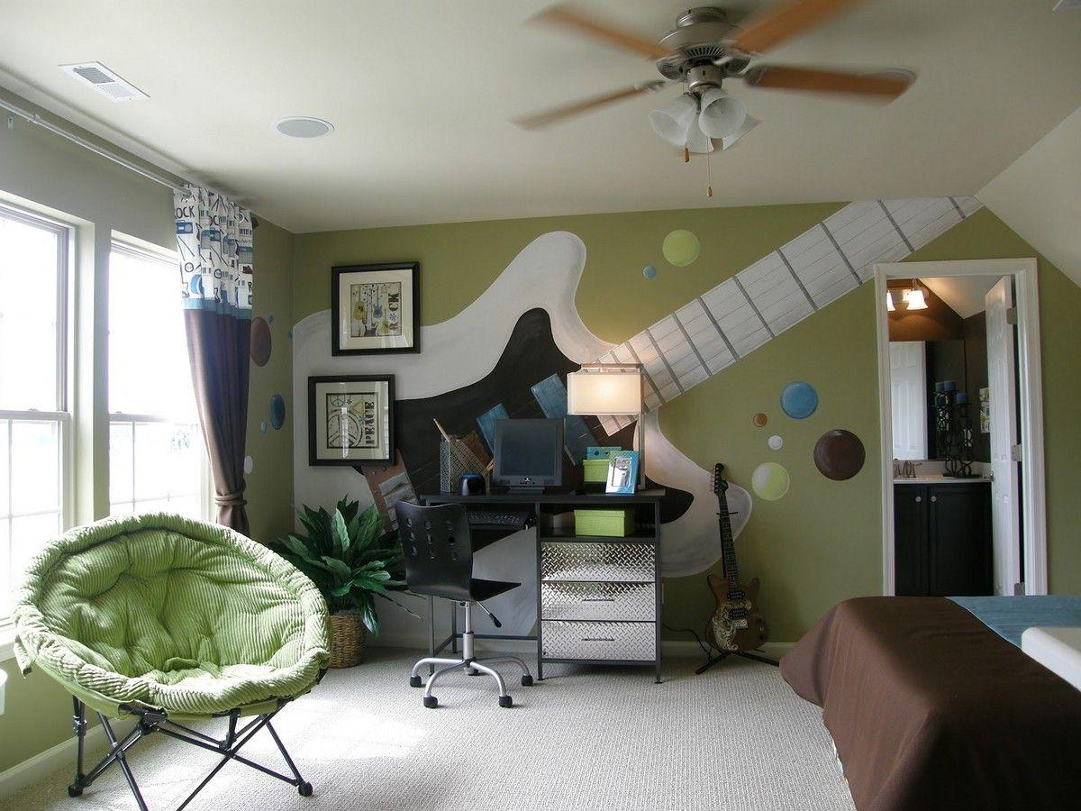 интерьер комнаты для подростка в стиле путешествий - Поиск ...