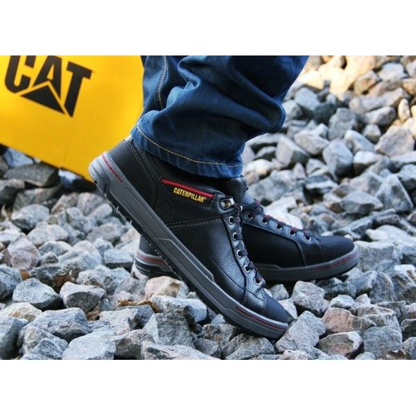 big sale 59c9a 8282f Caterpillar Brode P73917 buty meskie  Mens shoes on stone background.