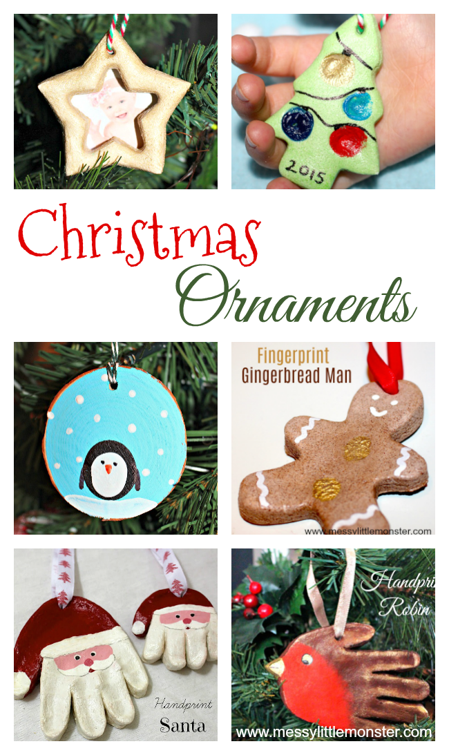 Christmas Bulb Craft Ideas Part - 19: DIY Christmas Ornament Crafts For Kids