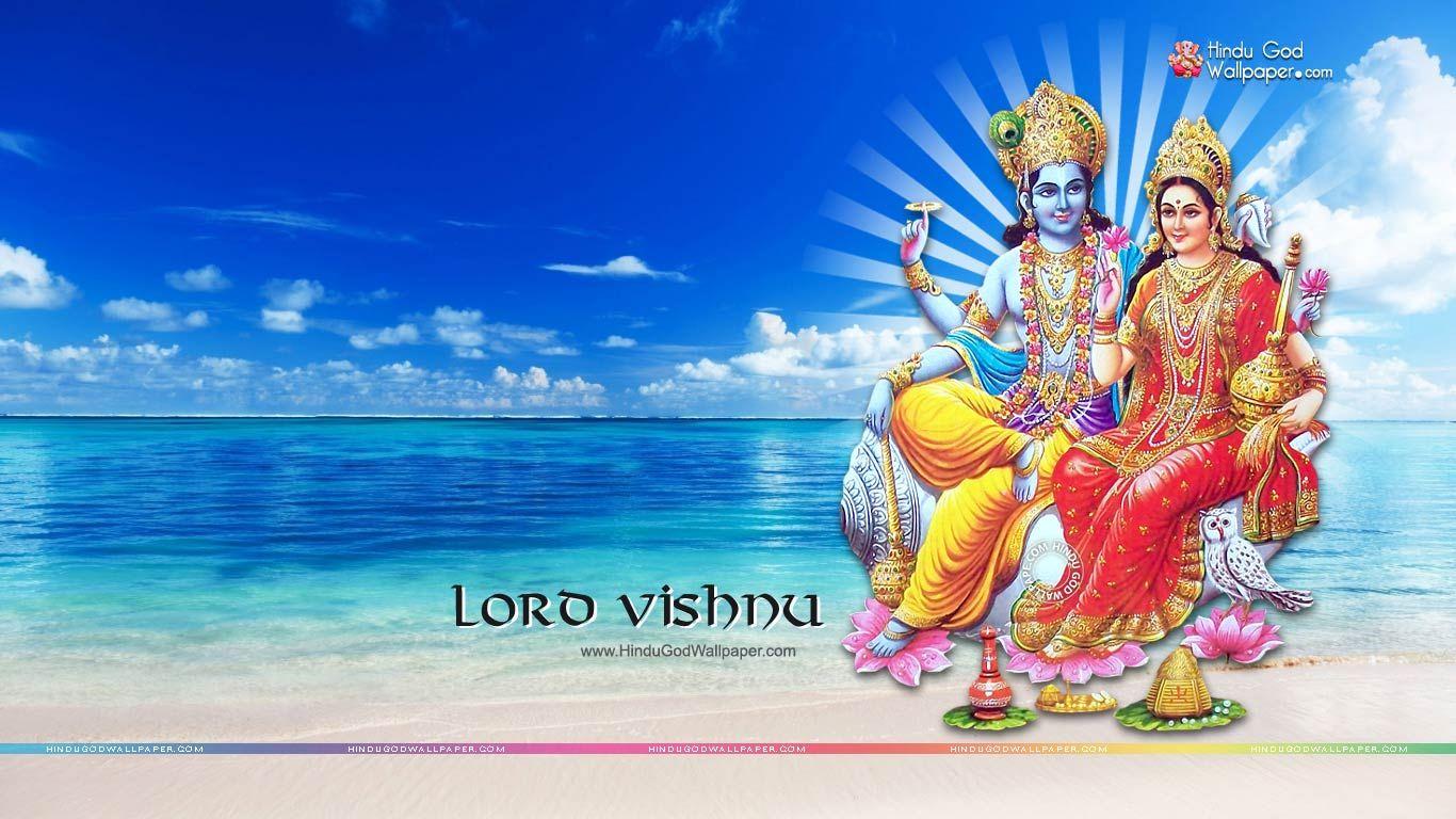 Lord Vishnu Hd Wallpapers 1366x768 Lord Vishnu Wallpapers Lord Krishna Images Lord Vishnu