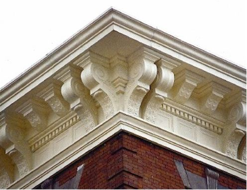 A cornice (from the Italian cornice meaning  ledge ) is generally any horizontal  sc 1 st  Pinterest & Ode to Architectural Cornices - Bobu0027s Blogs | Decorative mouldings ... memphite.com