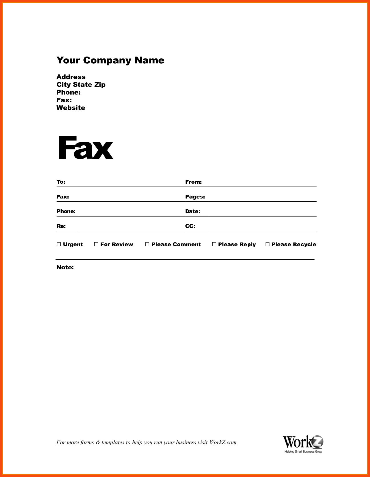 New Cover Fax Sheet Invoice template word, Fax cover