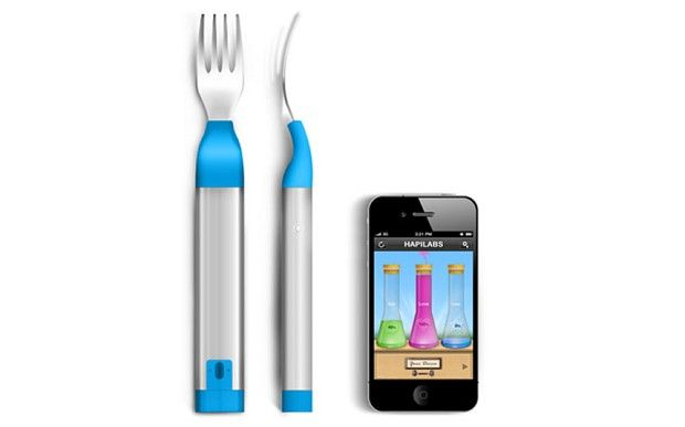 CES 2013: connected fork 'helps you lose weight'