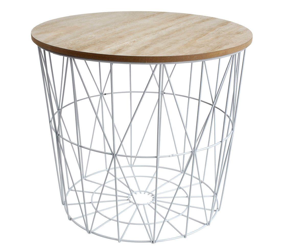 Bout De Canape Scandinave Cross Blanc But Decor Room Et Table