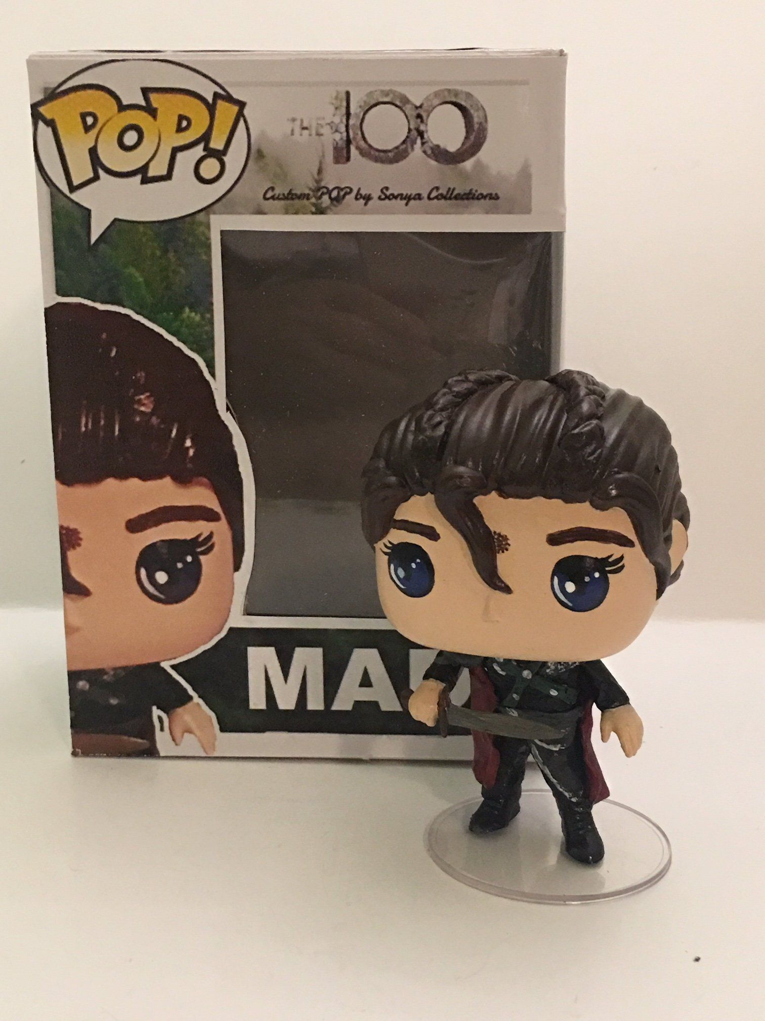 funko pop griffin  The 100 Madi Griffin Custom Funko POP by SonyaCollections on Etsy ...