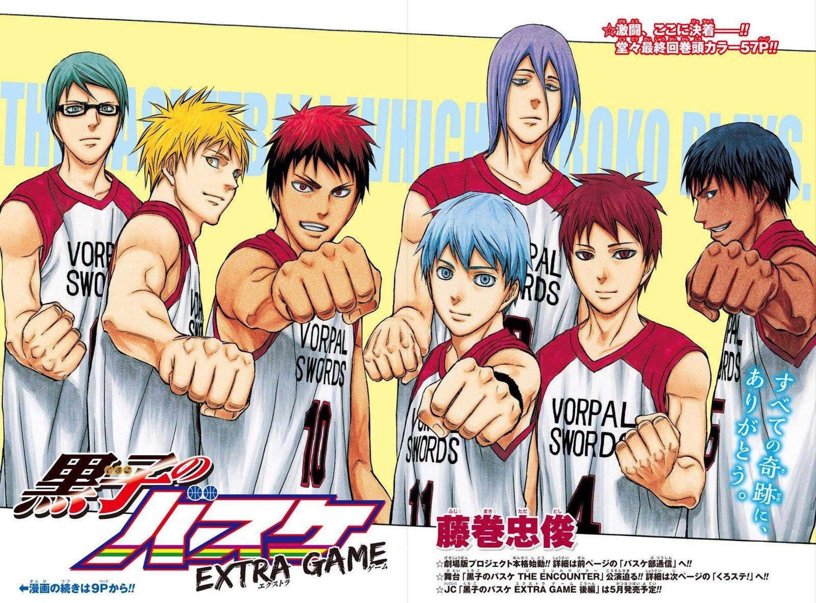 New Teaser Pv For Kuroko S Basketball Last Game Film Http
