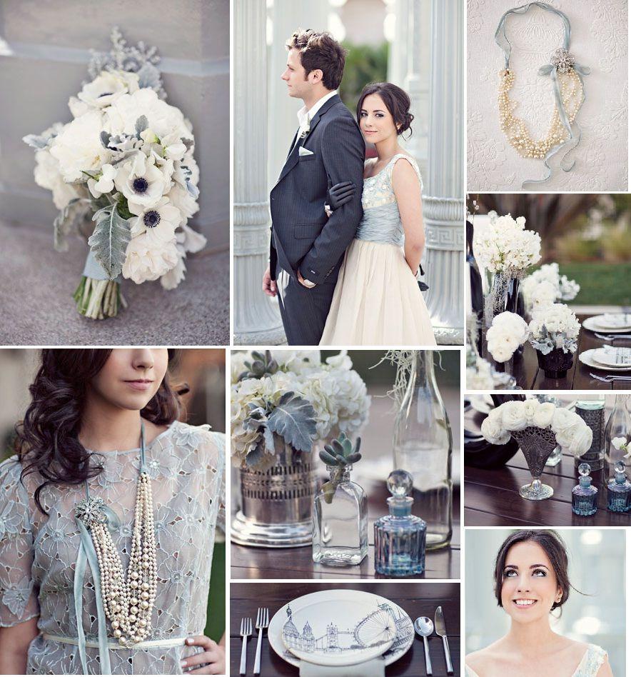 Modern Vintage Pale Blue Wedding Wedding To Be Wedded Bliss 10