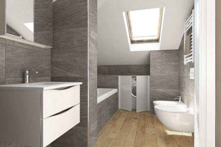 idee salle de bains - Recherche Google Salle de bains Pinterest - parquet flottant special salle de bain