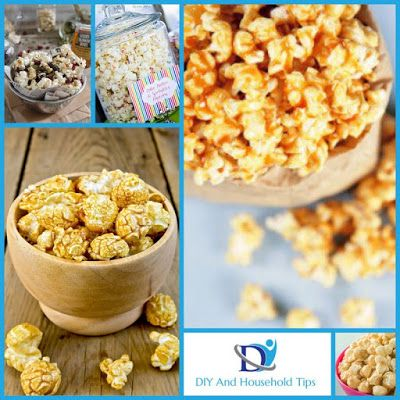 DIY And Household Tips: 20 New Popcorn Recipes