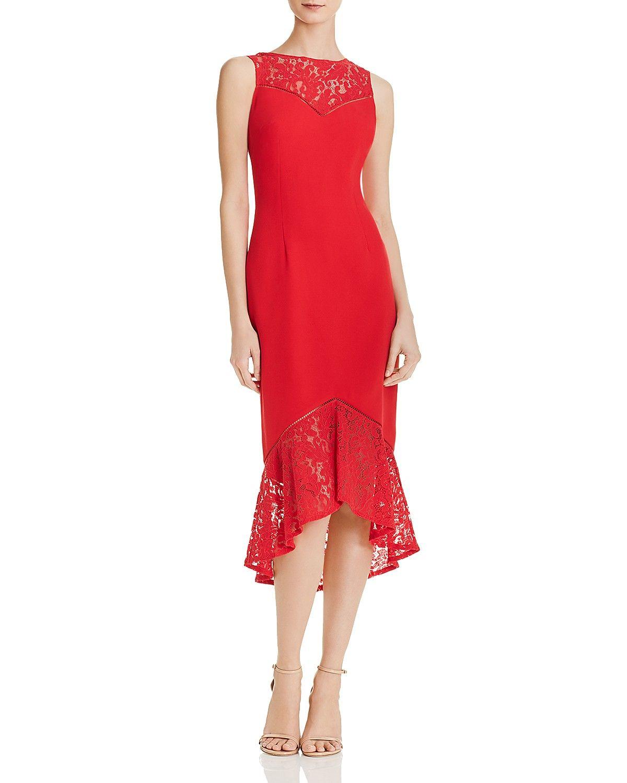 6733f12d0d0 Red Cocktail Dress Bloomingdales