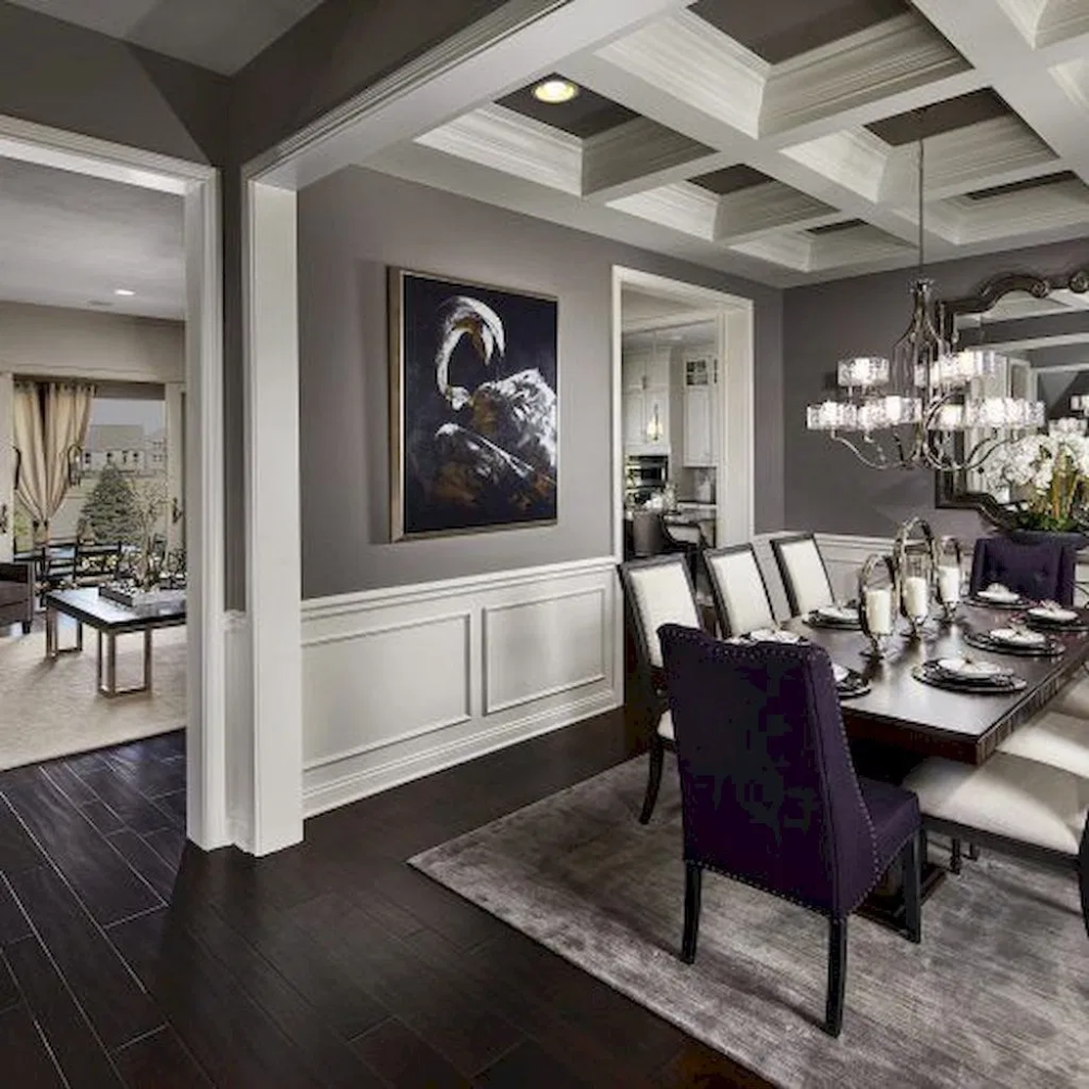 Charming And Cheap Decor Ideas Formal Dining Room: Ideas For Trendy Dinning Room Inside Kinds