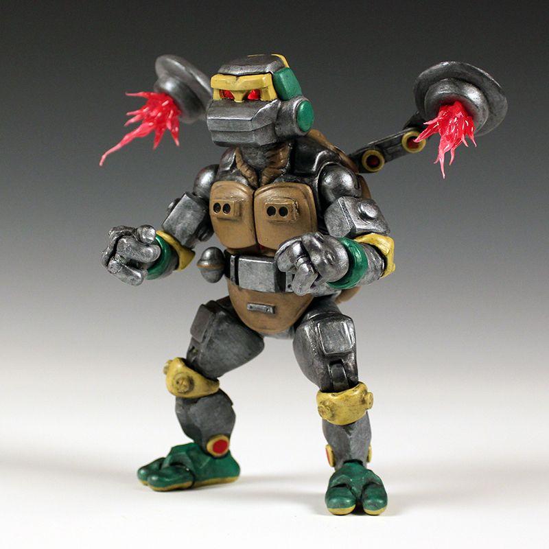 Teenage Mutant Ninja Turtles Metalhead Action Figure