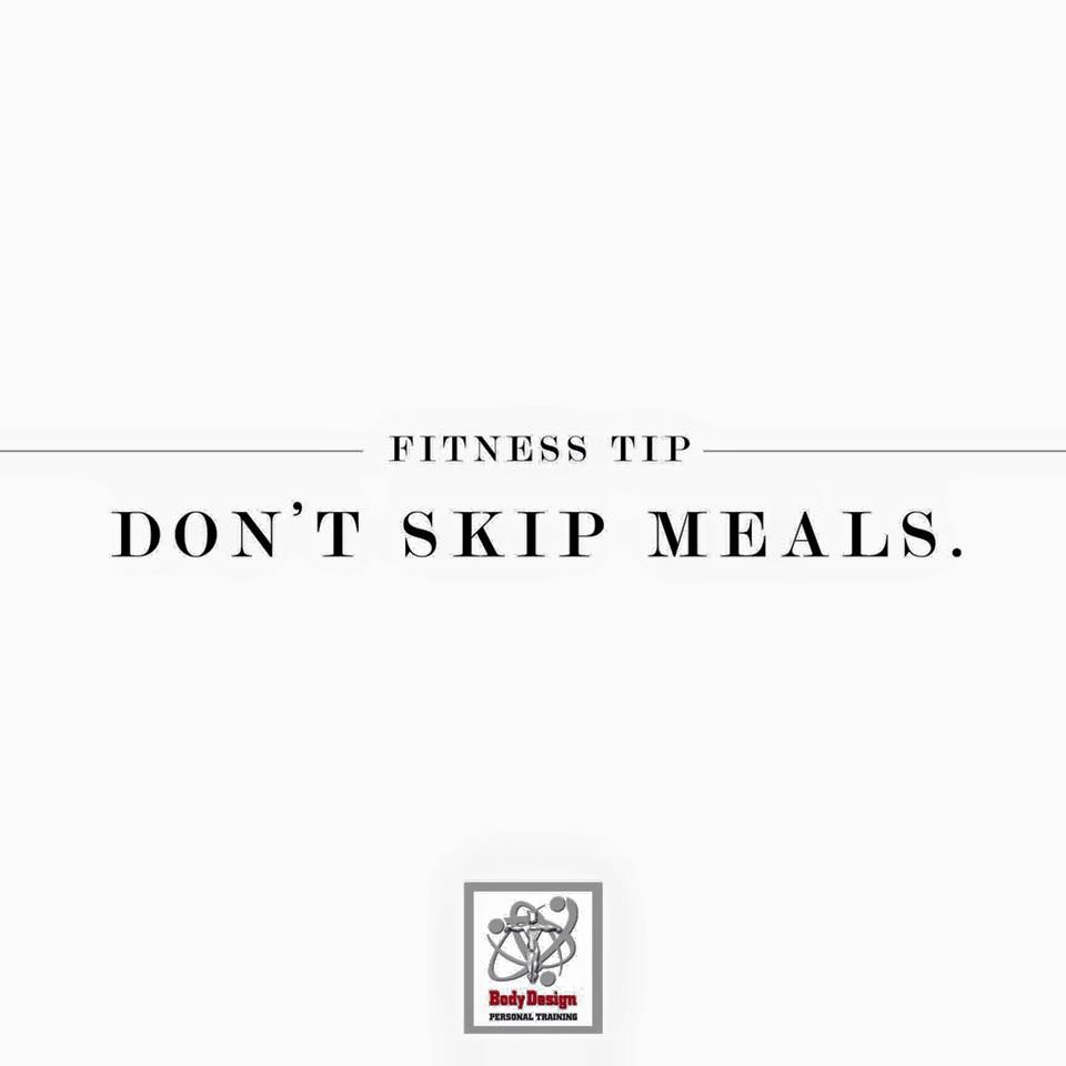 Profile picture for fitness on request - Fitness Tip Don T Skip Meals To Get A Meal Plan And Fitness