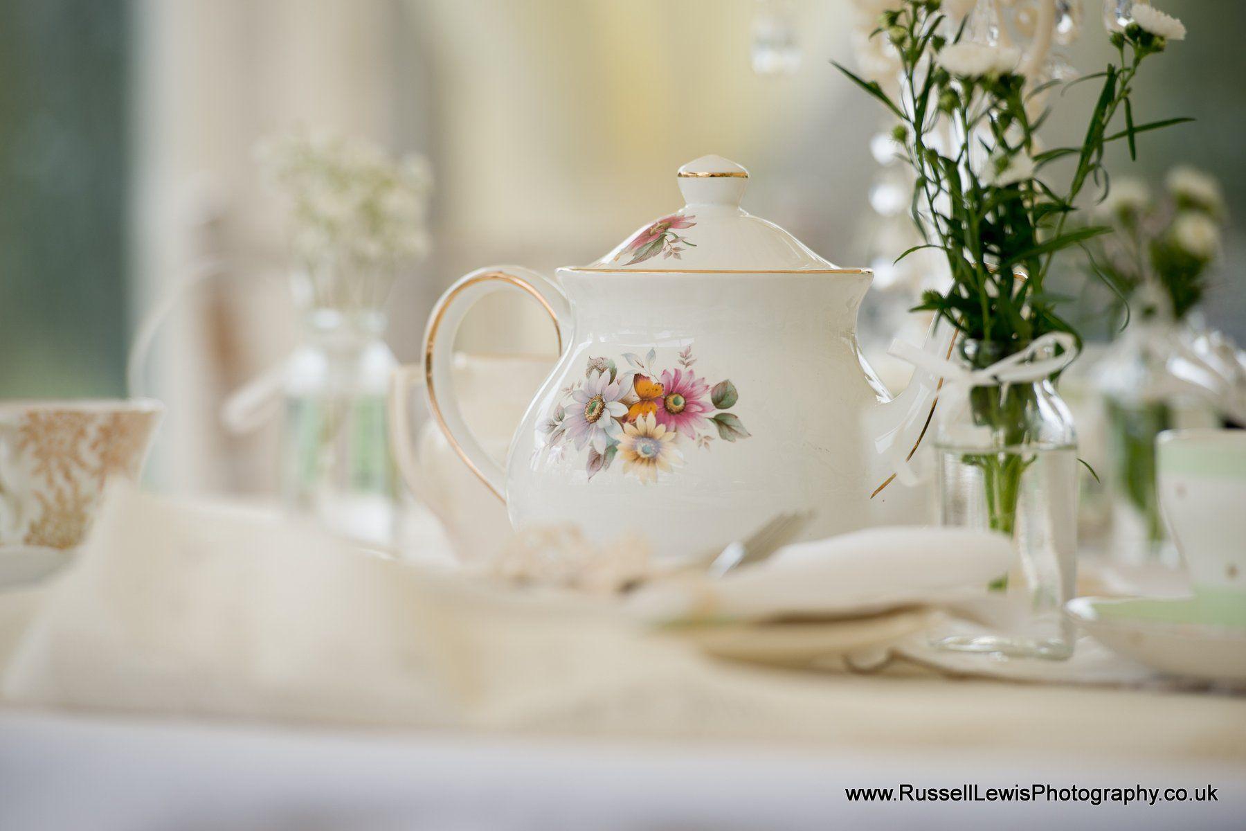 Afternoon Tea Table Set up Lemore Manor & Afternoon Tea Table Set up Lemore Manor | High Tea Wedding Breakfast ...