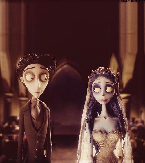 Corpse Bride wedding.