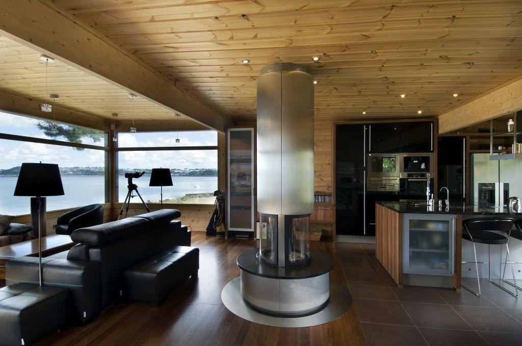 Attractive Honka Blockhaus Modell Fusion Bretagne Kaminzimmer Great Ideas