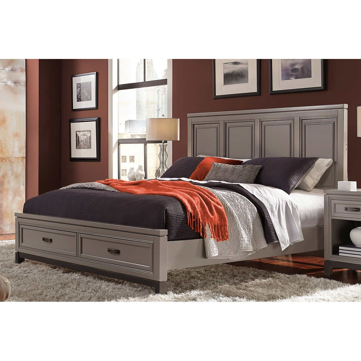 Norah King Storage Bed King storage bed, Master bedroom