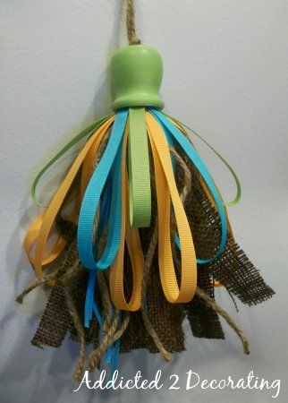 Homemade Tassel From Blog Addicted 2 Decorating Craft Home