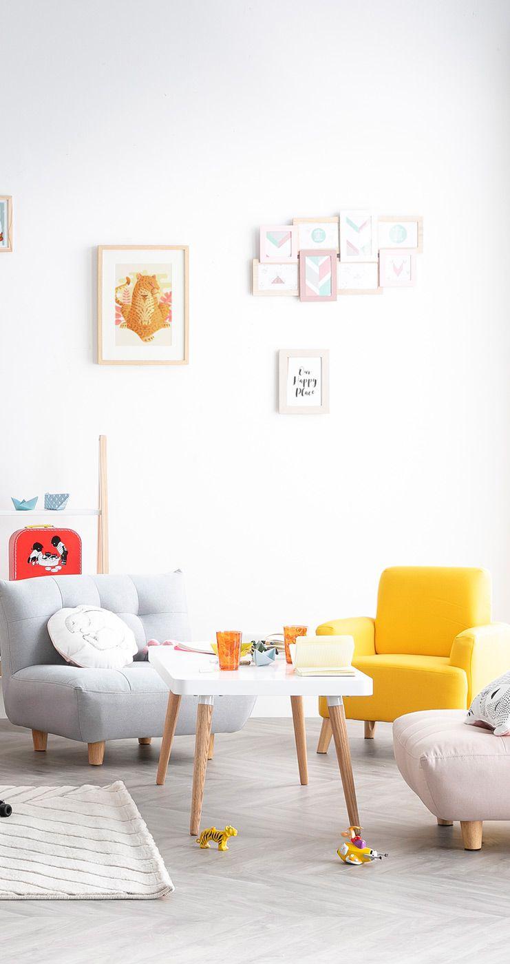 Table Basse Design Scandinave Totem Miliboo En 2020 Table Basse Design Mobilier De Salon Idee Deco
