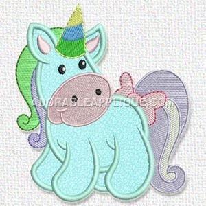 Free Embroidery Design: Unicorn | Free Embroidery Designs
