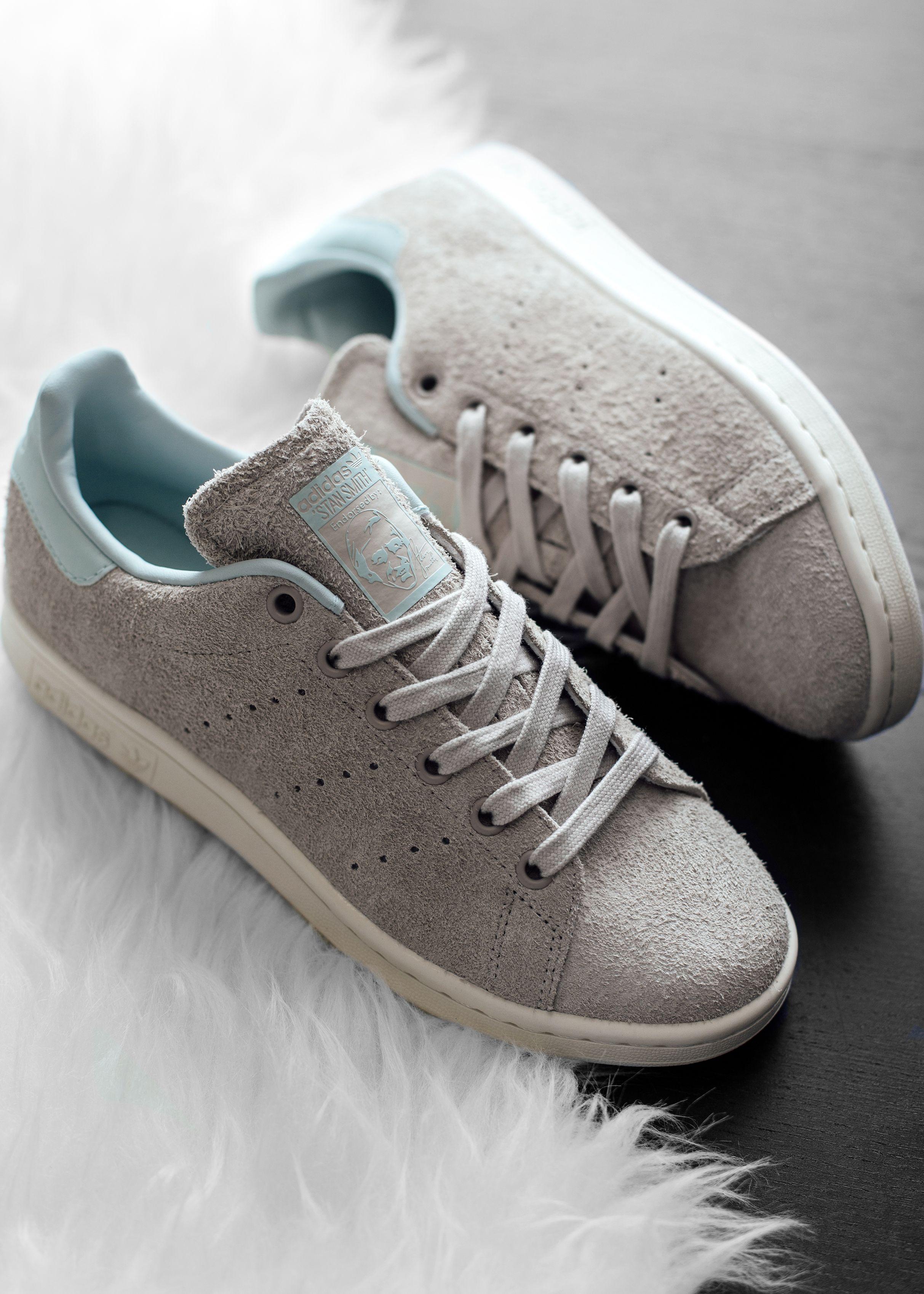 """huge selection of d06d3 84e66 Adidas Women's Stan Smith """"Vapor Green"""" #Adidas #StanSmith ..."""