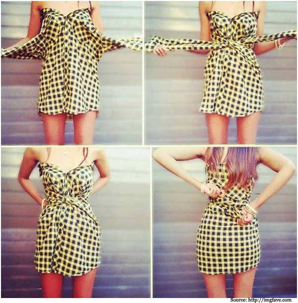 10 diy ways to dress up at your house fashion clothes scarf diy 10 diy ways to dress up at your house fashion clothes scarf diy solutioingenieria Gallery