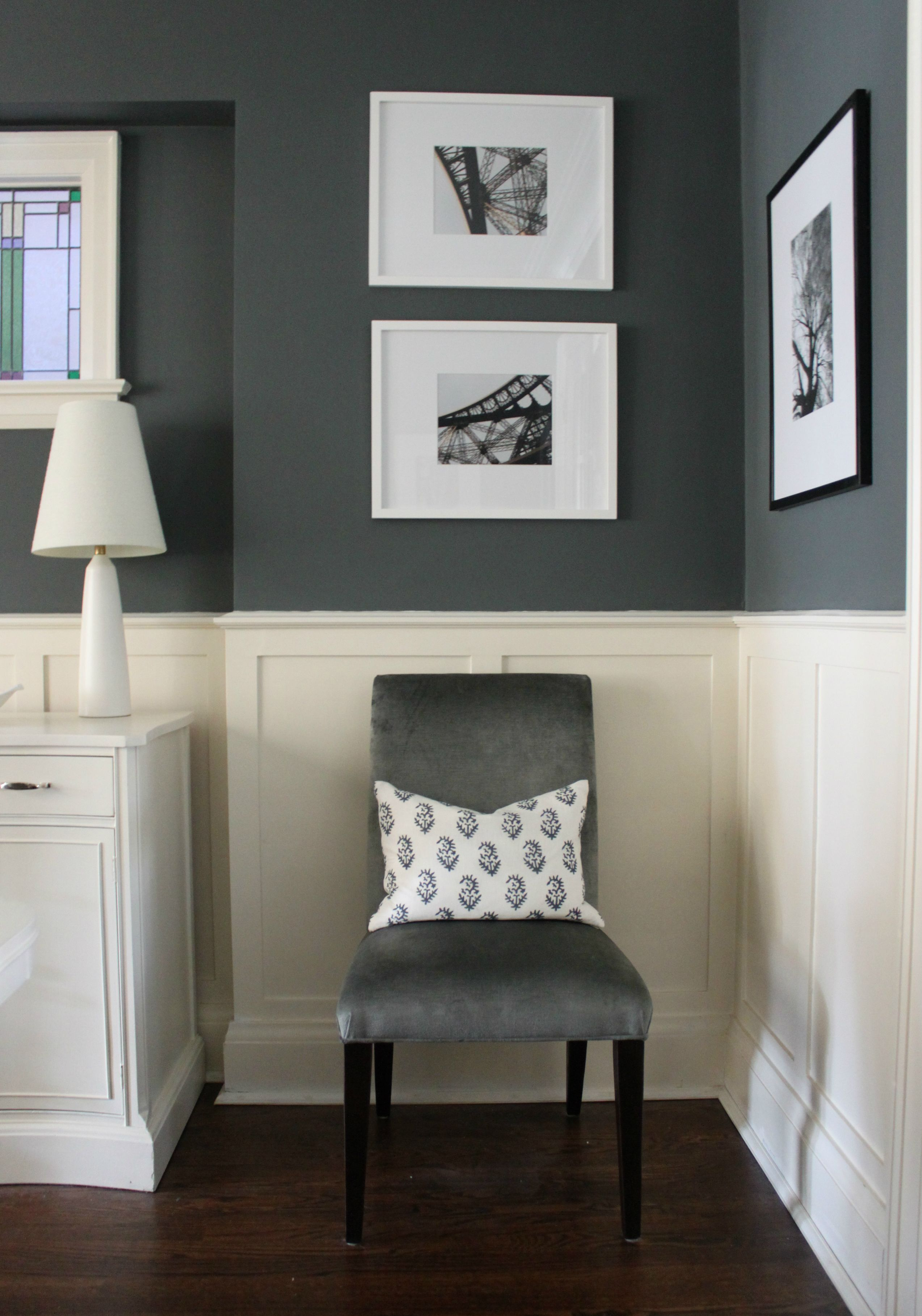 Love a rich dark wall downpipe · vintage living roomsguest bedroomsmaster bedroommaster suitecolour