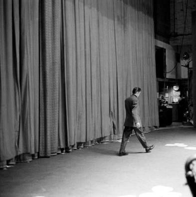 Alfred Wertheimer unpublished photo - Elvis CBS studio 50, New York, March 1956...