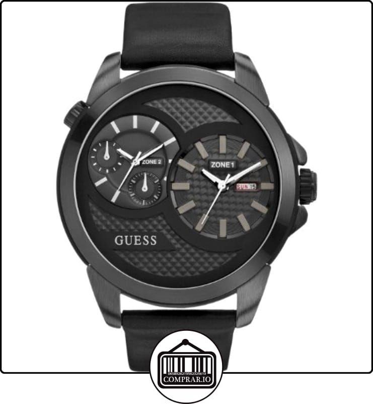 87ed1a6234f0 Guess Reloj de cuarzo Man W0184G1 Negro 55 mm de ✿ Relojes para hombre -  (Gama media alta) ✿