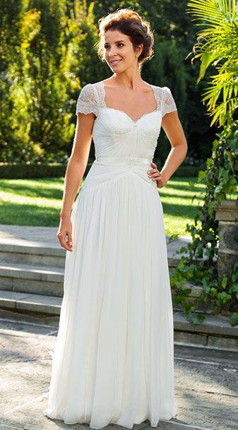 vintage lace wedding dress | Wedding | Pinterest | Vintage lace ...