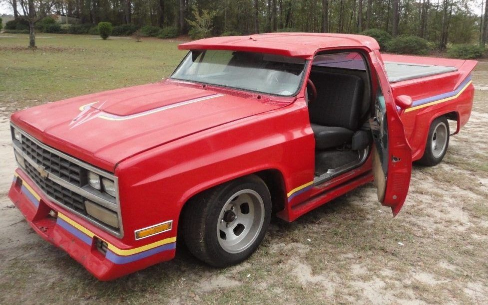 Hot hauler 1979 chevrolet silverado custom custom