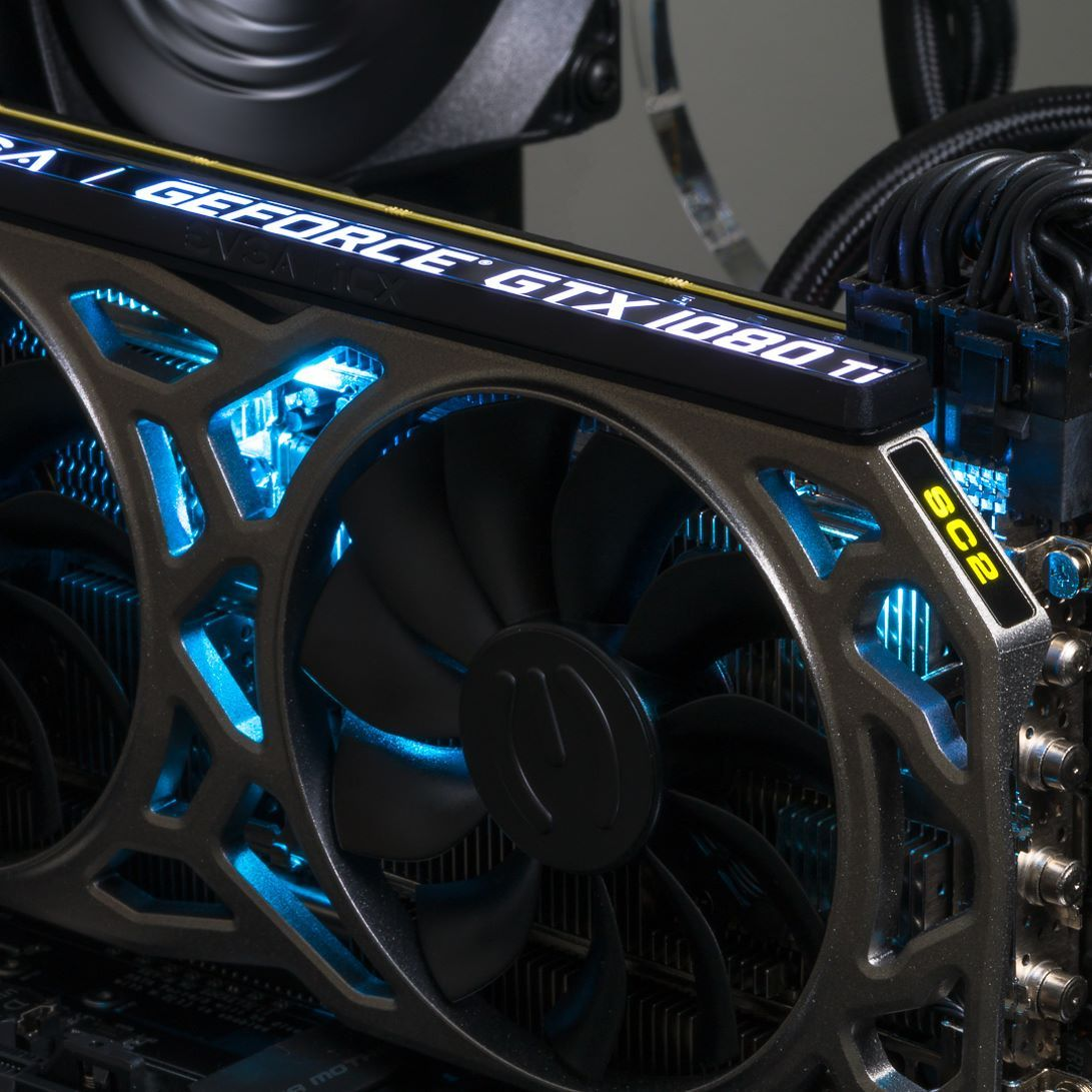 The EVGA GeForce GTX 1080 Ti SC2 features RGB lighting 9 Thermal