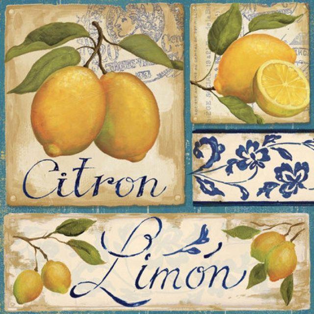 Citron Limón | cuadros | Pinterest | Limon, Laminas y Fruta