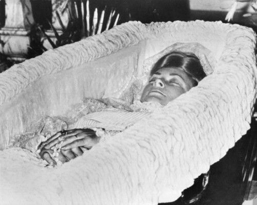 cercueil grace de monaco