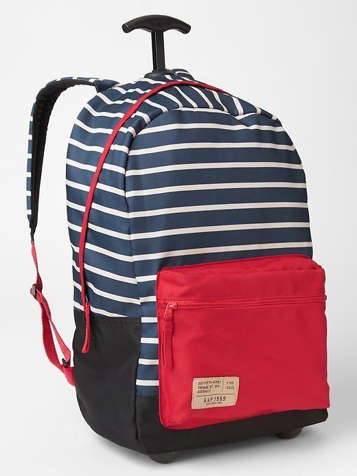 5326c0725128 Gap Printed roller backpack