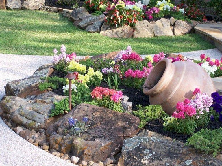 20 Rock Garden Ideas For Front Of House Magzhouse