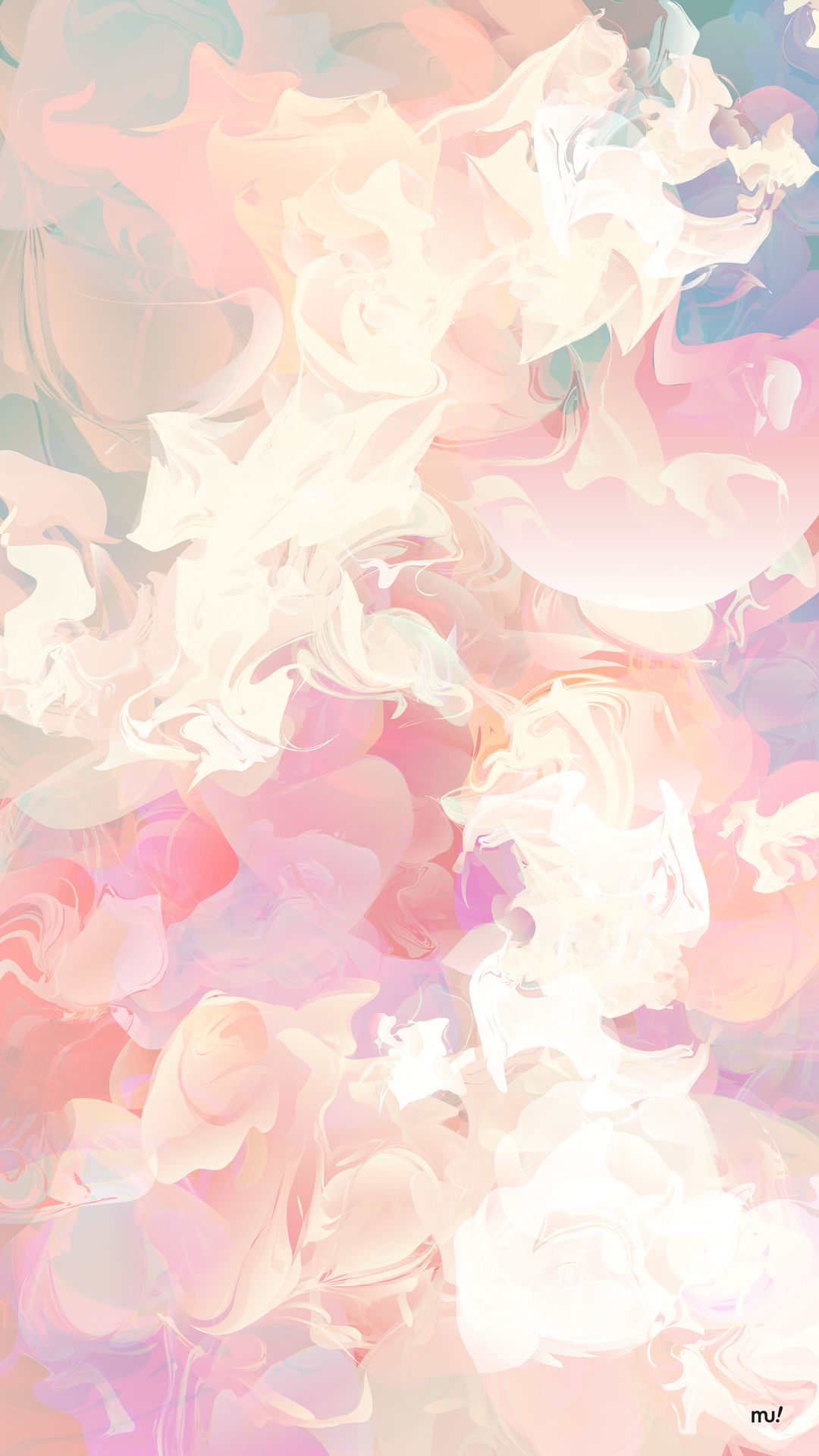 Artistic Wallpaper Pastel Background Design