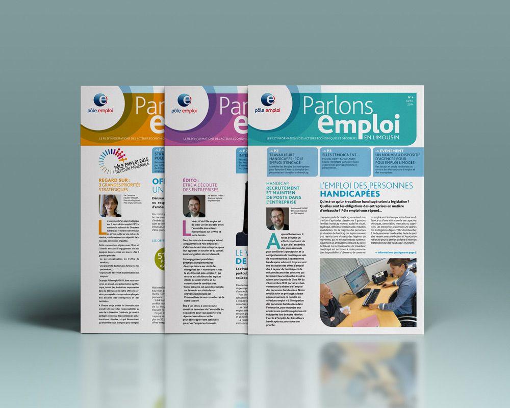 Lettre D Information Parlons Emploi Destinee Aux Entreprises Information Entreprise Entreprise Recrutement