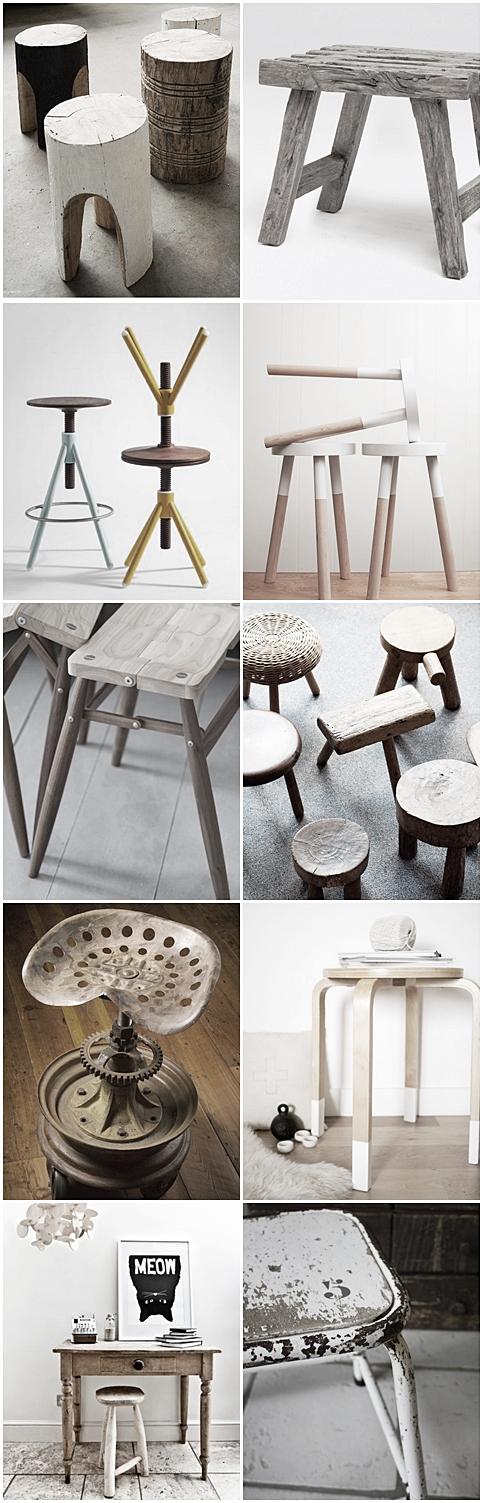 white life ©: I ♥ stools ...