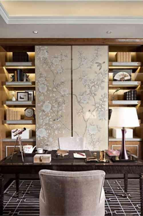 Cacher sa télé avec une porte coulissante - 48 idées intéressantes - Armoire Ikea Porte Coulissante