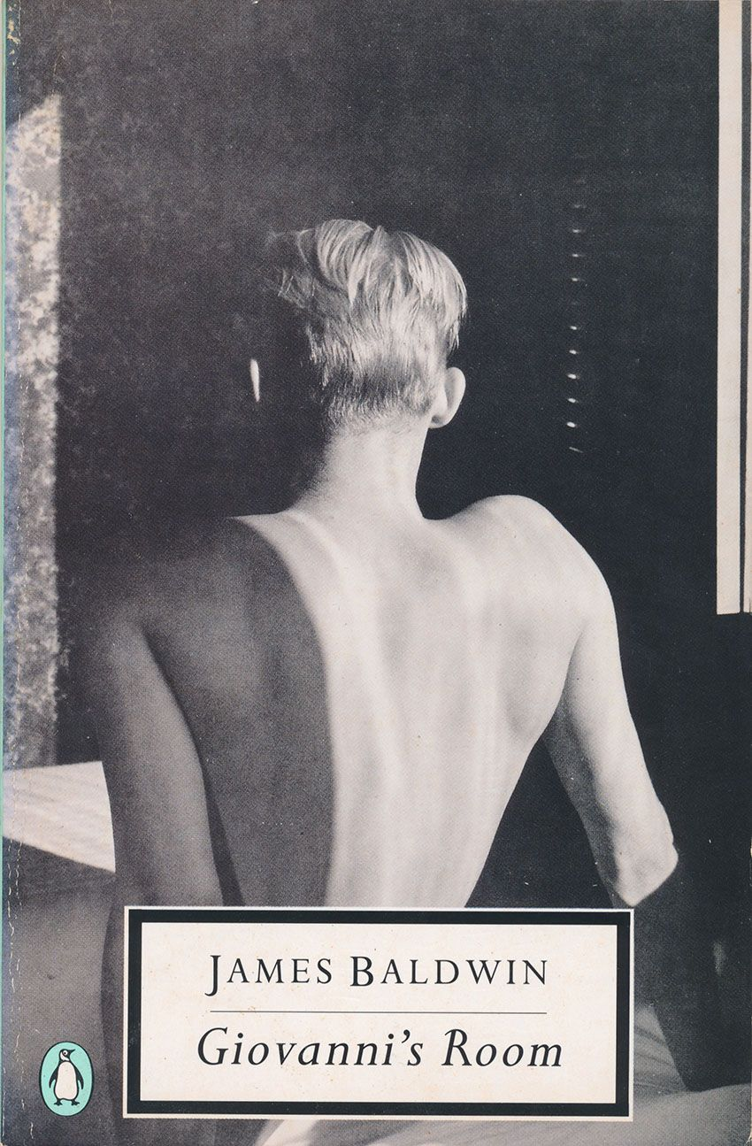 James Baldwin - Giovanni's Room (Penguin Twentieth Century Classics, 1990) Cover photograph by George Platt Lynes